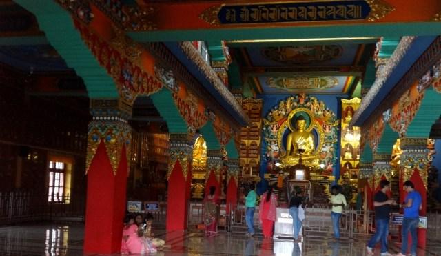 beautiful temple at Bodhgaya