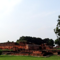 Monastery at ancient Nalanda university