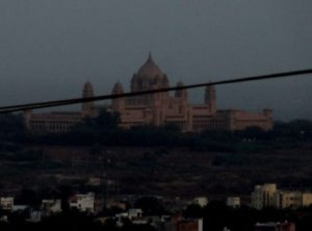 View of Umaid Bhawan Palace from Mehrangarh Fort , Jodhpur