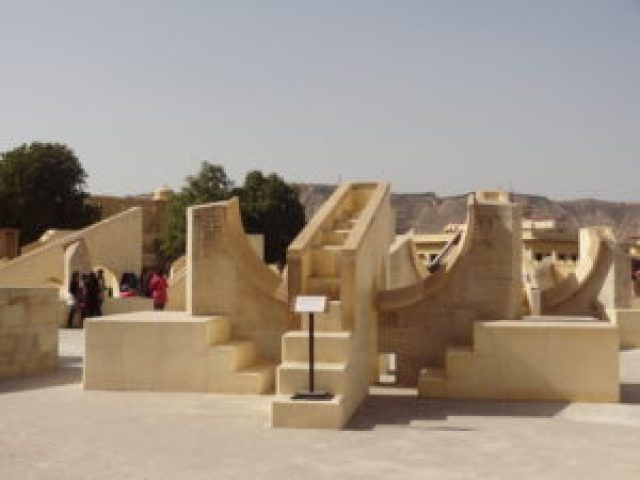 Jantar Mantar, world heritage site in Jaipur