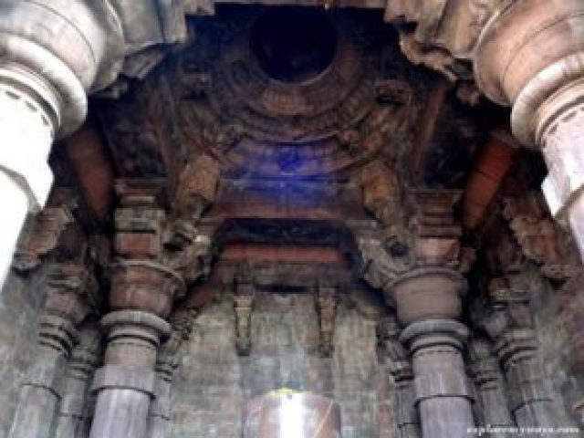 great pillar at Bhojpur