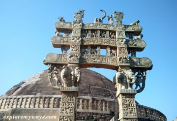 Sanchi stupa architecture