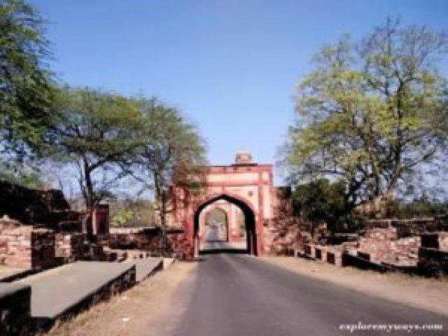Naubat Khana at fatehpur sikri