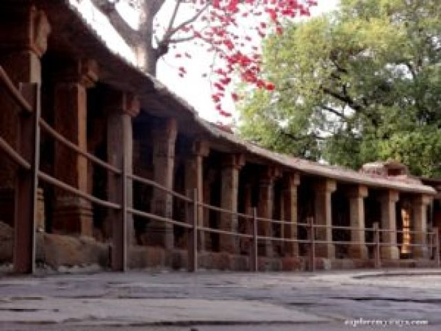 Chausath Yogini temple at Bhedaghat