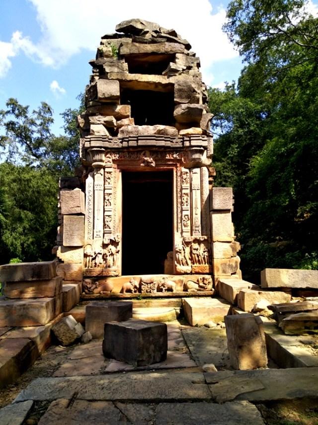 ruins of Bateshwar group of temples