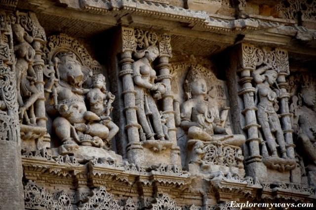 Ancient Rani ki Vav at Patan