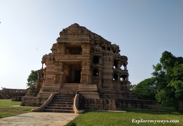 Sas bahu temple in Gwalior fort