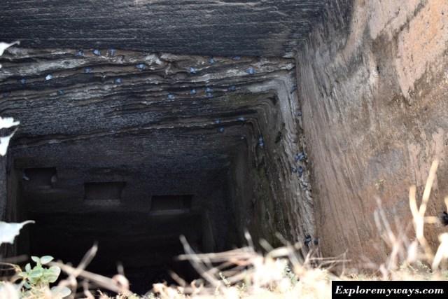 Navghan Kuvo, Uparkot fort