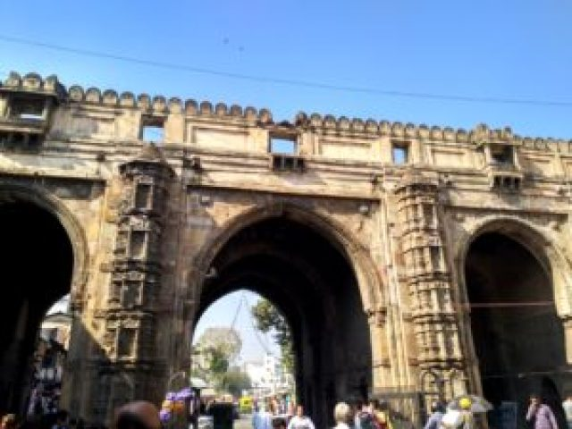 Teen Darwaza old building of ahmedabad