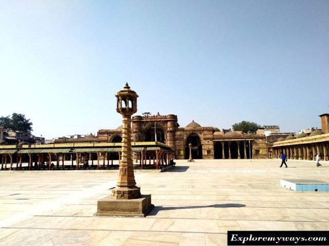 jama maszid, heritage monument of Ahmedabad city