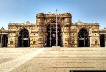 Heritage monuments Ahmedabad city