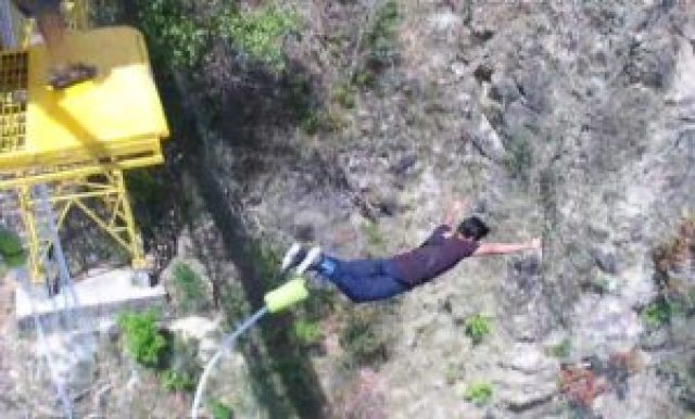 highest bungee jumping in India