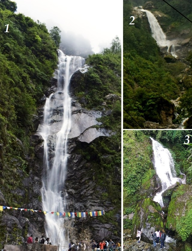 must see waterfalls in North Sikkim
