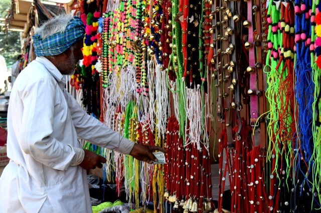 Items in Pushkar fair India