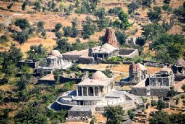 ancient temples, monuments in Kumbhalgarh fort
