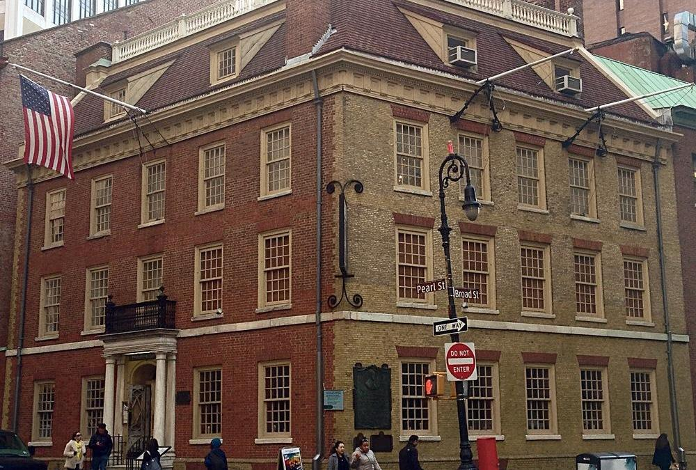 Revolutionary War sites in New York City