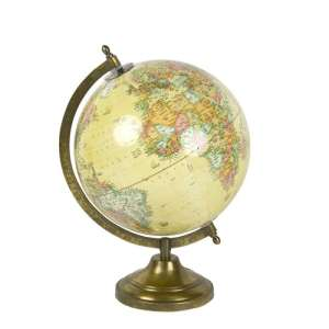Vespucci Globe, antique gloss, 30cm