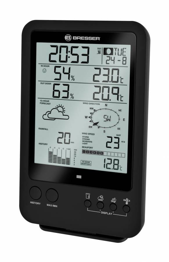 Bresser – Weather Center 5-in-1 Black