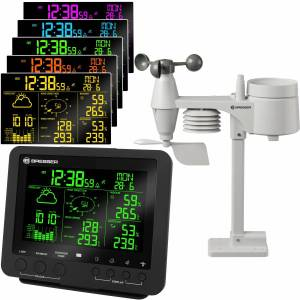 Bresser – 256 colour Professional Weather Center 5-in-1