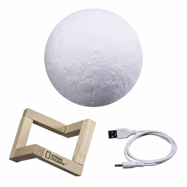 National Geographic – 3D Moon Lamp with stand