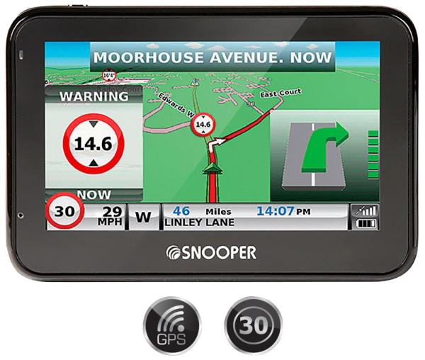 S2700 Syrius European Car Sat Nav