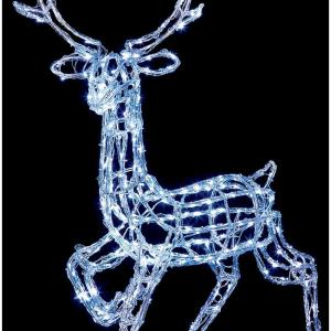 LED Acrylic Reindeer Christmas Light – 1m