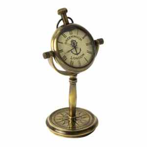 Greenwich Pocket Watch Clock