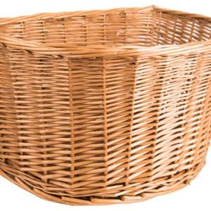 "Adie Wicker Basket 18"" D-Shape"