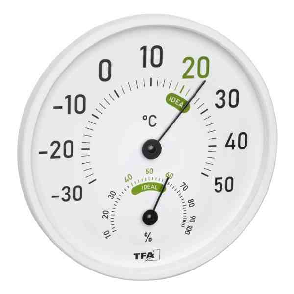 TFA – Analogue thermo-hygrometer for inside and outside