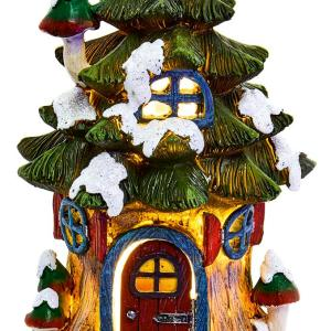 LED Fairy Christmas Tree House Ornament