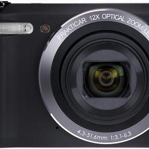 Luxmedia 20MP Black Digital Compact Camera with WiFi