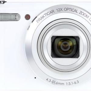 Luxmedia 20MP White Digital Compact Camera Kit with WiFi