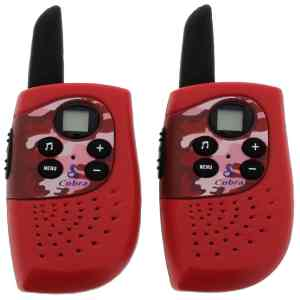 Children's Fire & Rescue Walkie Talki
