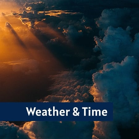 Weather and Time