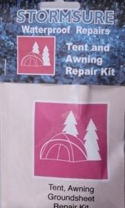 Stormsure Waterproof Tent / Awning Repair kit