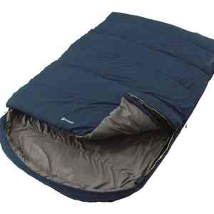 Campion Lux Double Blue Sleeping Bag – Blue