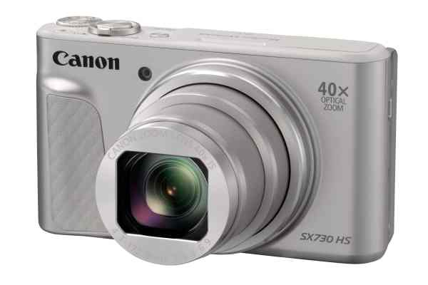 Canon PowerShot SX730 HS 20.3MP 40x Zoom Compact Camera – Silver