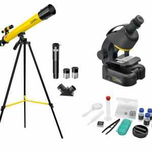 National Geographic 50/600 Telescope, Microscope 640x & Smartphone Adapter Kit