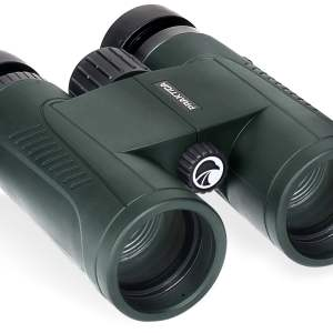 PRAKTICA Odyssey 8x42mm Green Waterproof FMC Optics Binoculars with FREE CASE