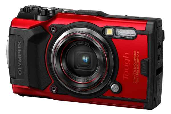 Olympus TG-6 12MP 4x Zoom Tough Compact Camera – Red
