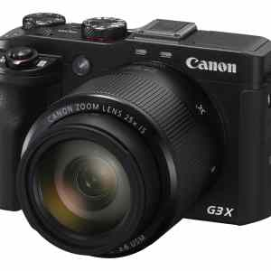 Canon PowerShot G3X 20.2MP 25x Zoom Compact Camera - Black