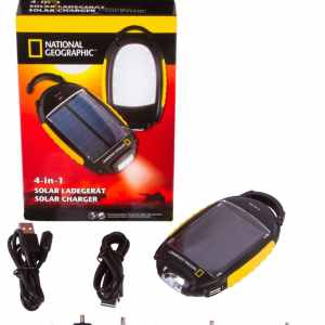 Bresser National Geographic Solar Power Charger 4-in-1