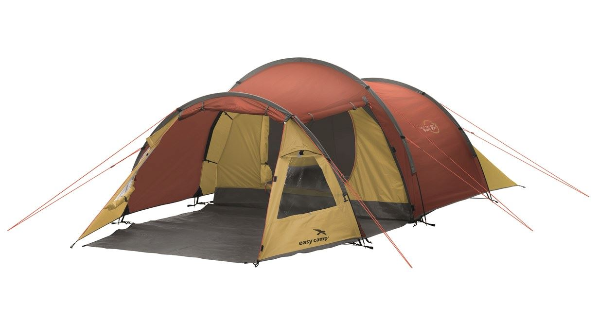 Easy Camp Spirit 300 Gold/Red Tent 3 Person