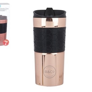 B&Co Hamelin 380ml Leak Proof Thermal Mug – Rose Gold