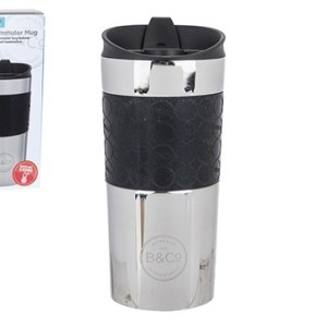B&Co Hamelin 380ml Leak Proof Thermal Mug Stainless Steel