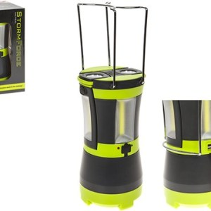 Stormforce Rechargable Cob Lantern W/2 Detachable Torches