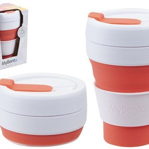 MyBento Tall 355ml/12oz Pop Cup – Coral
