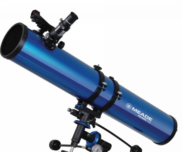 Meade Polaris 114mm EQ Reflector Telescope