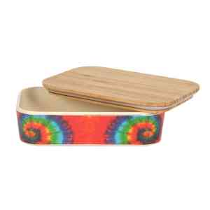 Groovy Baby Tie Dye Bamboo Lunch Box