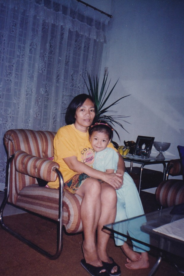 Nanay and I in the 90s.